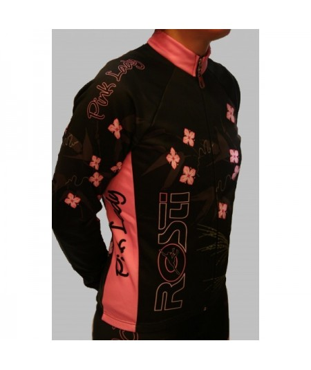 Rosti Pink Lady cycling jersey long sleeve
