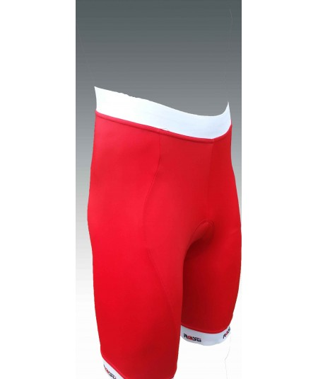 Long distance strapless red cycling shorts