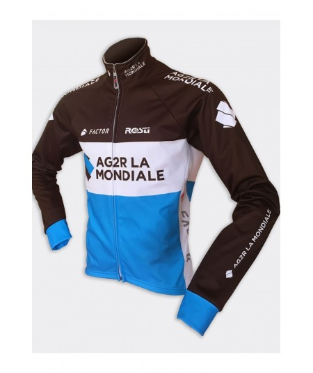 Long sleeve cycling jerseys AG2R-La Mondiale