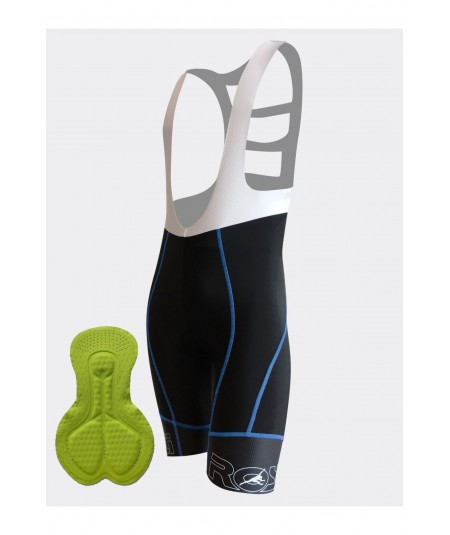 Bib short BLUEBERRY