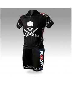 Pirate Cycling Shorts Black