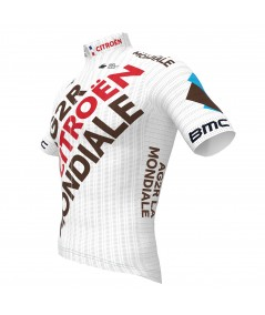 Maillot officiel AG2R Citroën Team vue de coté