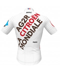 Maillot officiel AG2R Citroën Team vue de dos