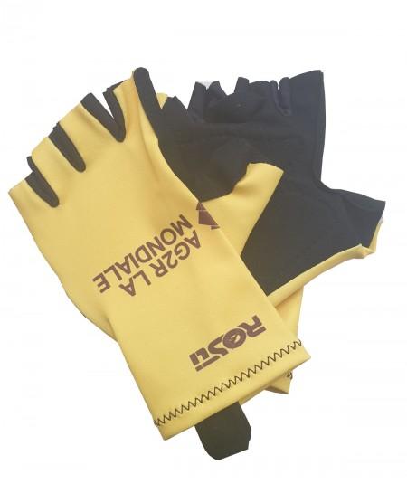 Yellow Tour Bike Gloves